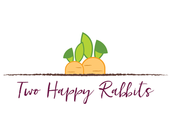 Two Happy Rabbits
