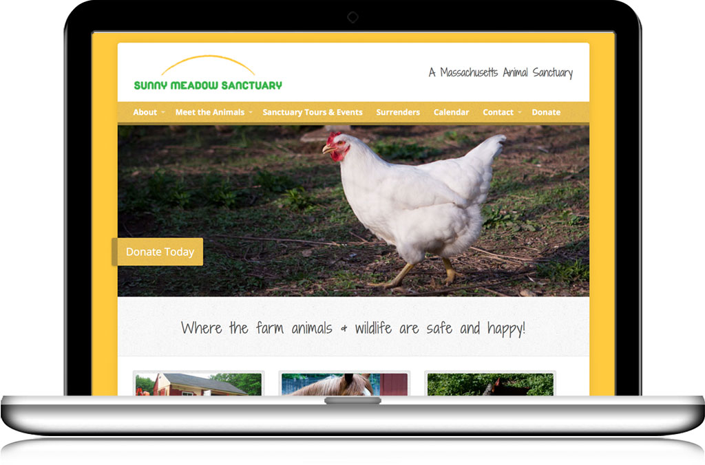Sunny Meadow Sanctuary website